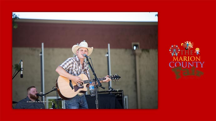 Marion County Fair - country singer