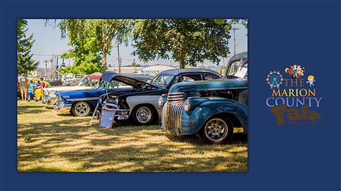 Marion County Fair - classic car show