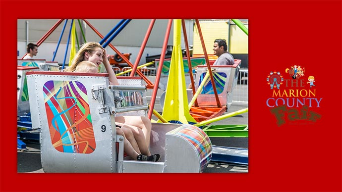 Marion County Fair - carnival ride
