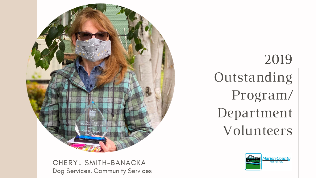Cheryl Smith Banacka 2019 Program Volunteer