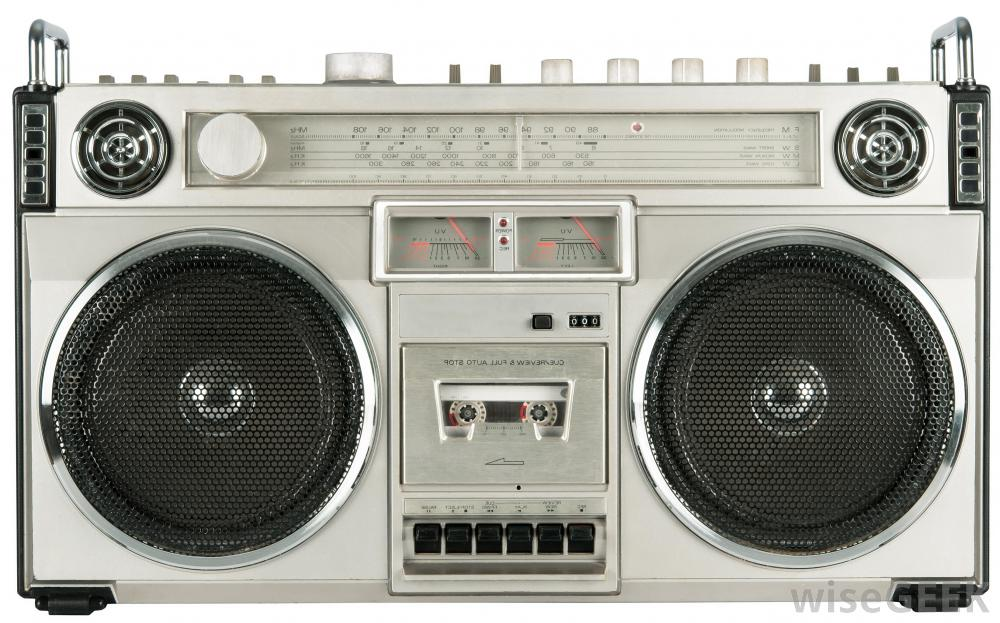 image of a stereo