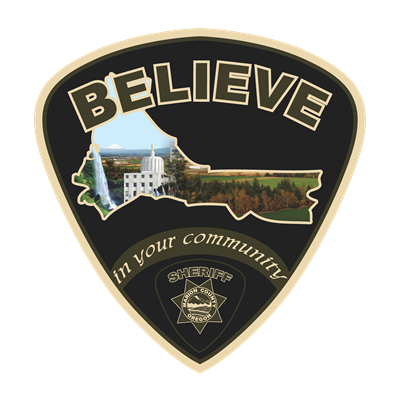 Believe in your community patch logo