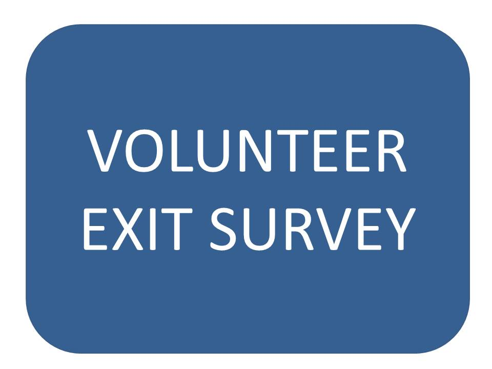 Volunteer Exit Survey